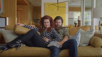 Sling TV Spot, 'Stretch: Stop Paying Too Much' Featuring Nick Offerman, Megan Mullally - Thumbnail 6