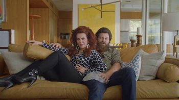 Sling TV Spot, 'Stretch: Stop Paying Too Much' Featuring Nick Offerman, Megan Mullally - Thumbnail 7