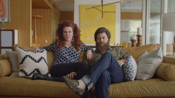Sling TV Spot, 'Freedom: Stop Paying Too Much' Featuring Nick Offerman, Megan Mullally - 1553 commercial airings