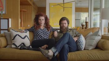 Sling TV Spot, 'Freedom: Stop Paying Too Much' Featuring Nick Offerman, Megan Mullally - Thumbnail 1