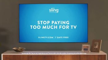 Sling TV Spot, 'Freedom: Stop Paying Too Much' Featuring Nick Offerman, Megan Mullally - Thumbnail 10