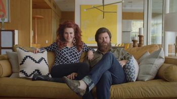 Sling TV Spot, 'Freedom: Stop Paying Too Much' Featuring Nick Offerman, Megan Mullally - Thumbnail 3