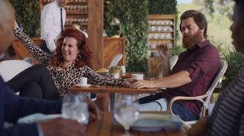 Sling TV Spot, 'Freedom: Stop Paying Too Much' Featuring Nick Offerman, Megan Mullally - Thumbnail 4