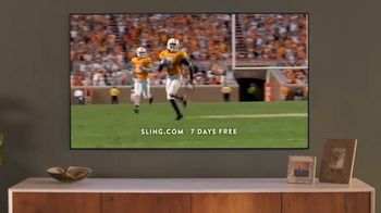 Sling TV Spot, 'Freedom: Stop Paying Too Much' Featuring Nick Offerman, Megan Mullally - Thumbnail 9