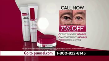 Chamonix Skin Care Genucel TV Spot, 'Under Eye Bags' - Thumbnail 10