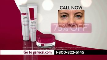 Chamonix Skin Care Genucel TV Spot, 'Under Eye Bags' - Thumbnail 9