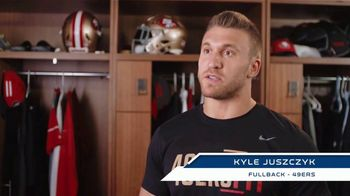 NFL TV Spot, 'The Future of Football: Protecting Myself' Featuring Kyle Juszczyk - Thumbnail 4