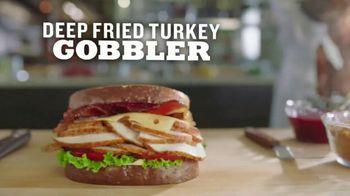 Arby's Deep Fried Turkey Gobbler TV Spot, 'Smell That' Feat. H. Jon Benjamin - Thumbnail 5