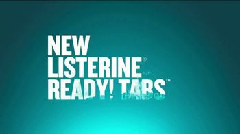 Listerine Ready! Tabs TV Spot, 'How to Get Rid of Bad Breath After Eating' - Thumbnail 1
