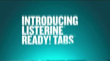 Listerine Ready! Tabs TV Spot, 'How to Get Rid of Bad Breath After Eating' - Thumbnail 10