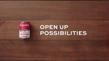 Campbell\'s Condensed Cream of Mushroom Soup TV Spot, \'Open up Possibilities\'