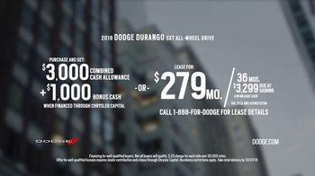 2018 Dodge Durango TV Spot, 'Brotherhood of Muscle: Make Some Noise' [T2] - Thumbnail 10