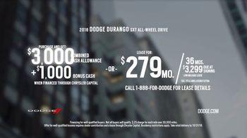 2018 Dodge Durango TV Spot, 'Brotherhood of Muscle: Make Some Noise' [T2] - Thumbnail 9