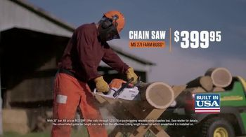 STIHL TV Spot, 'Blower & Chan Saw With Extra Chain'