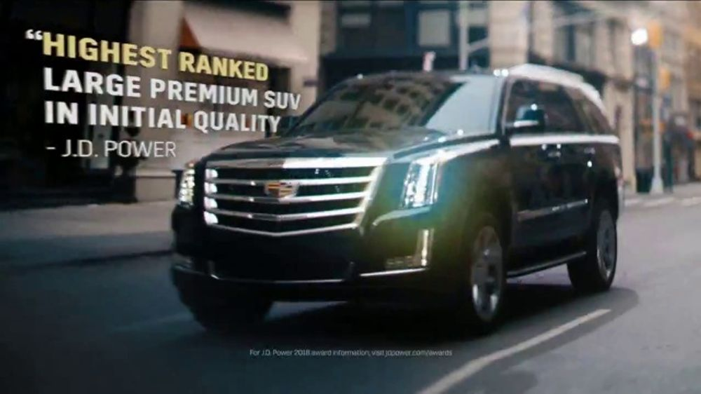 2018 Cadillac Escalade Tv Commercial The Reviews Song By Barns