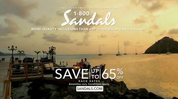 Sandals Resorts TV Spot, 'Whatever You Want' - Thumbnail 10