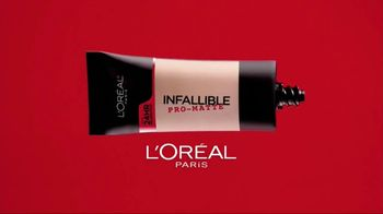 L'Oreal Paris Infallible Pro-Matte Foundation TV Spot, 'Hot Topic'