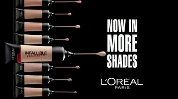 L'Oreal Paris Infallible Pro-Matte Foundation TV Spot, 'Hot Topic' - Thumbnail 8