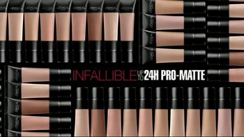 L'Oreal Paris Infallible Pro-Matte Foundation TV Spot, 'Hot Topic' - Thumbnail 9