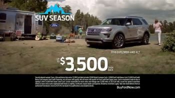 Ford SUV Season TV Spot, 'Trout' [T2] - Thumbnail 7