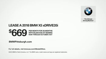 2018 BMW X5 TV Spot, 'Perfect Sense: Break Ground' [T2] - Thumbnail 10