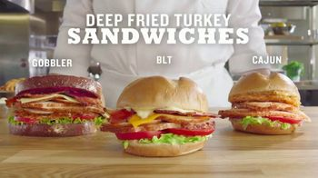Arby's Deep Fried Turkey Sandwiches TV Spot, 'For Now' Featuring H. Jon Benjamin - Thumbnail 6