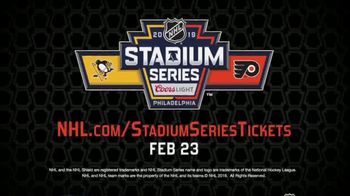 NHL TV Spot, '2019 Stadium Series' - Thumbnail 8