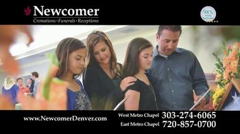 Newcomer Cremations, Funerals & Receptions TV Spot, 'A Beautiful Funeral Service'