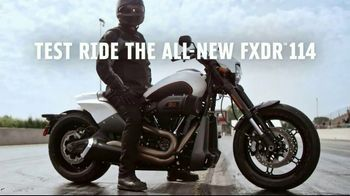 2019 Harley-Davidson FXDR 114 TV Spot, 'Free[er] to Test Your Mettle' - Thumbnail 10