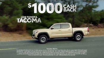 Toyota Truck Month TV Spot, '2018 Tacoma' [T2] - Thumbnail 7