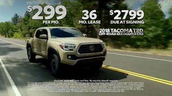 Toyota Truck Month TV Spot, '2018 Tacoma' [T2] - Thumbnail 9