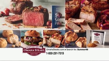 Omaha Steaks Summer Grilling Package TV Spot, 'Summer Barbecues' - Thumbnail 2