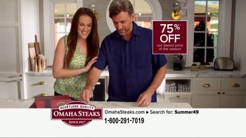 Omaha Steaks Summer Grilling Package TV Spot, 'Summer Barbecues' - Thumbnail 3