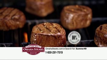 Omaha Steaks Summer Grilling Package TV Spot, 'Summer Barbecues' - Thumbnail 4