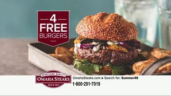 Omaha Steaks Summer Grilling Package TV Spot, 'Summer Barbecues' - Thumbnail 6