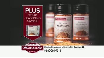 Omaha Steaks Summer Grilling Package TV Spot, 'Summer Barbecues' - Thumbnail 7
