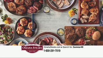 Omaha Steaks Summer Grilling Package TV Spot, 'Summer Barbecues' - Thumbnail 8