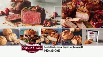 Omaha Steaks Summer Grilling Package TV Spot, 'Summer Barbecues' - Thumbnail 9