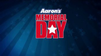 Aaron's Memorial Day Holiday Weekend Event TV Spot, 'Start a Lease with $5'