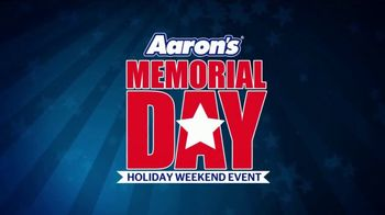 Aaron's Memorial Day Holiday Weekend Event TV Spot, 'Start a Lease with $5' - Thumbnail 1