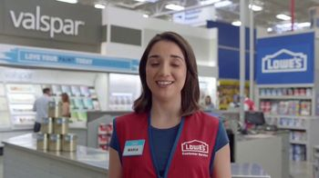 Lowe's Memorial Day Savings TV Spot, 'The Moment: Paint Guarantee' - Thumbnail 6