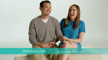 eHarmony TV Spot, 'Nick and Kimmy' Song by Natalie Cole - Thumbnail 2