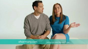 eHarmony TV Spot, 'Nick and Kimmy' Song by Natalie Cole - Thumbnail 7