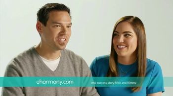 eHarmony TV Spot, 'Nick and Kimmy' Song by Natalie Cole - Thumbnail 8