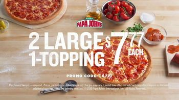 Papa John's TV Spot, 'It Starts with Our Ingredients' - Thumbnail 8