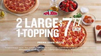 Papa John's TV Spot, 'It Starts with Our Ingredients' - Thumbnail 9