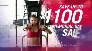 Bowflex Memorial Day Sale TV Spot, 'One Size Fits All'