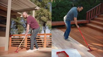 BEHR Premium Stain Memorial Day Savings TV Spot, 'Two Stains, Four Seasons'