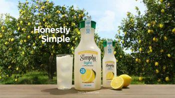 Simply Light Lemonade TV Spot, 'Surprisingly Refreshing, Way Less Sugar' - Thumbnail 8