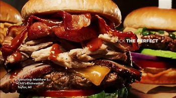 Chili's Ultimate Burgers TV Spot, 'Out Burger-ed'